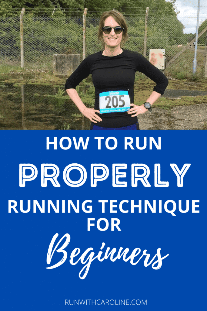how to run properly