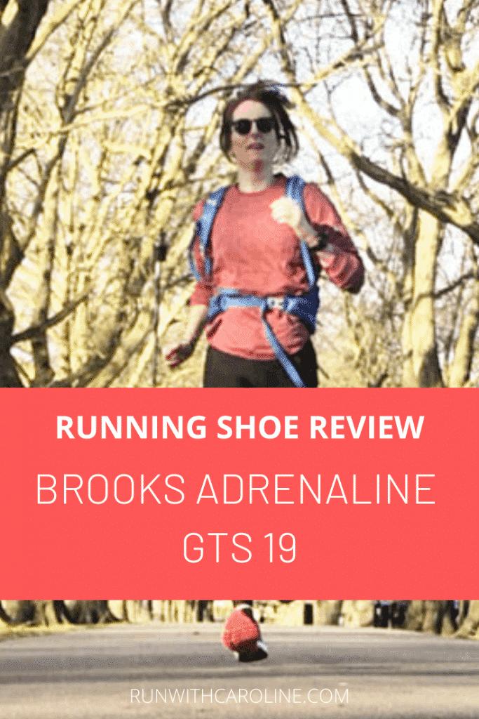 Brooks Adrenaline GTS 19 running shoe