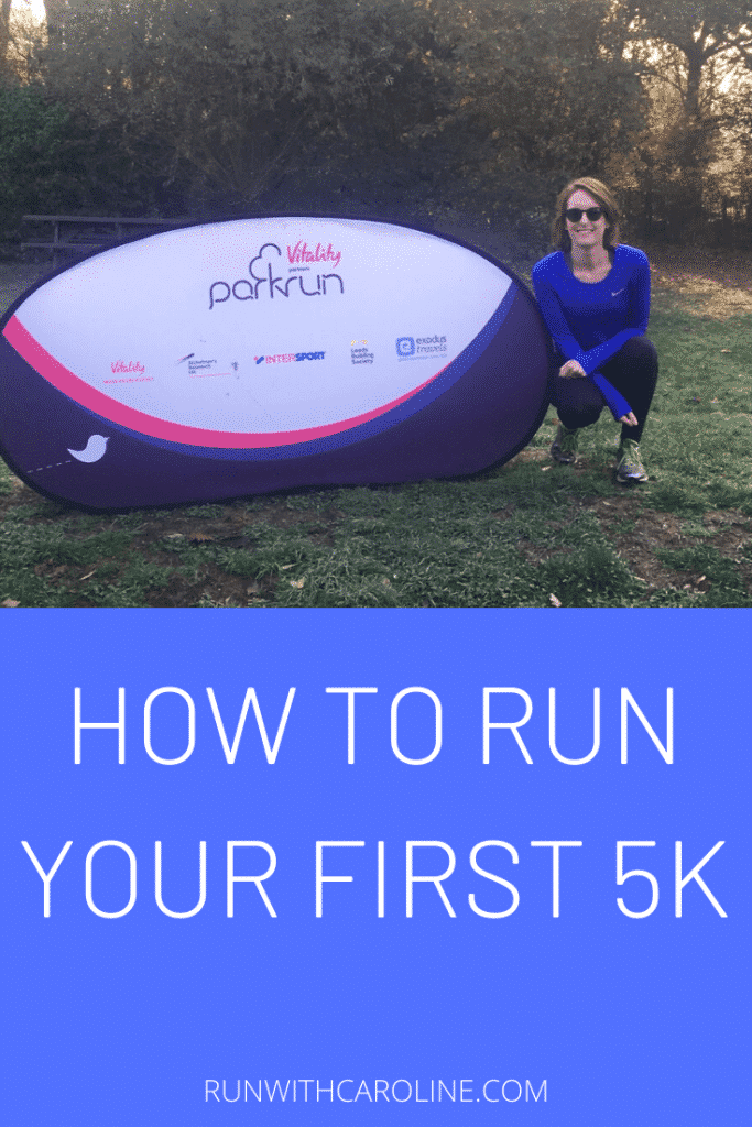 how to run first 5k