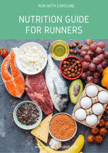 Nutrition guide for runners