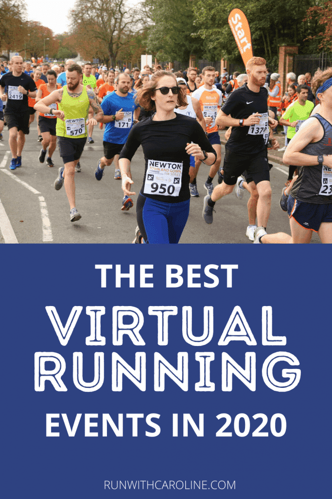 virtual running events in 2020