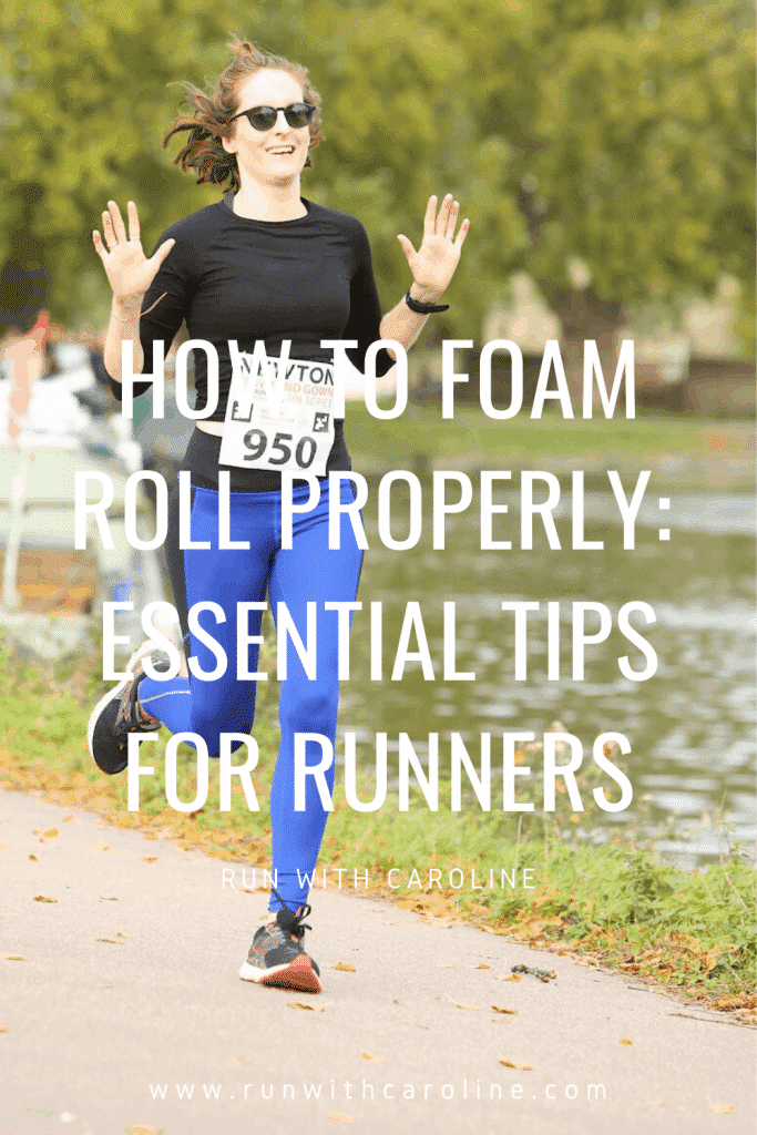 how to foam roll properly runners